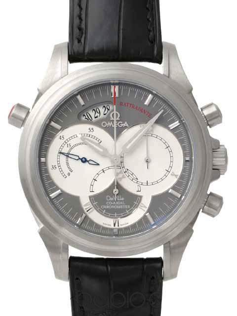 OMEGA DE VILLE COLLECTION CO-AXIAL RATTRAPANTE 4848.40.31
